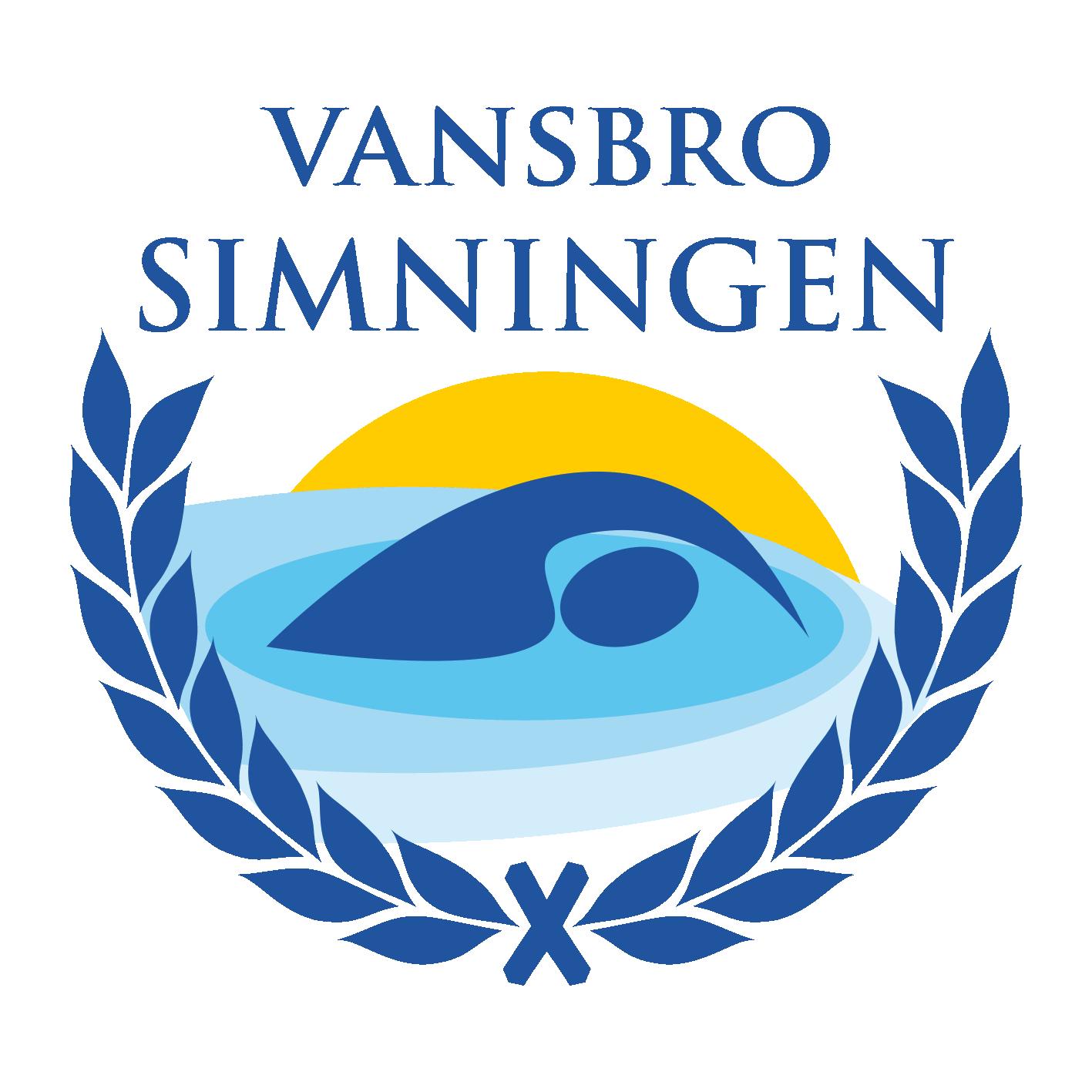 Vansbrosimningens logotyp